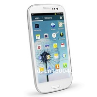 Мобильный телефон 100% THE SAME I9300 Galaxy S3 Smart phone 9300 Android 4.1.1 MTK6577 1.4 GHZ, 1G RAM, 4GB ROM, 4.8inch HD screen