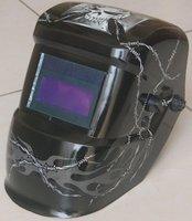 Сварочная маска Black Skeleton Art Solar Auto Darkening Welding Helmet Autodark Mask for ARC TIG & PLASMA CUT GK002