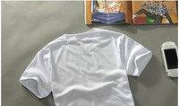Мужская футболка Men's cotton short sleeves t-shirt, Men's new casual brand t-shirt