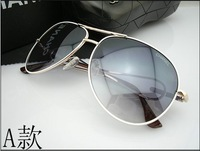 2013 new sunglasses fashion trend of men and women must have personality UV sunglasses glasses 65309