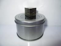 Неокубы, Кубики-Рубика 3mm 216pcs buckycube neocube magnet puzzle at round tin box nickel color
