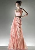 трапеция этаж длины атласная v-образным вырезом цветок невесты платье платье