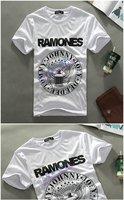 Free Shipping, Men's cotton short sleeves t-shirt , Men's new casual brand t-shirt