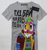 Футболка mix-fashion design, Short sleeve men's t-shirt big brand DENI
