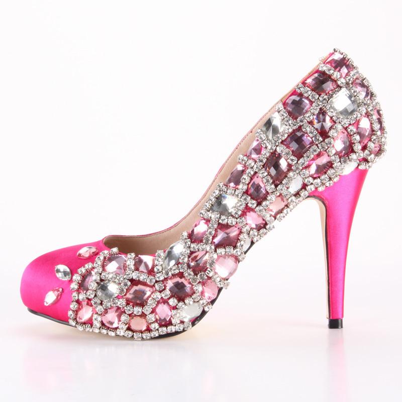 Туфли розовые на выпускной