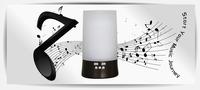 новый эксклюзивный музыкальный плеер + ингалятор фоггер деревянный ультразвуковой увлажнитель для портативных испаритель
