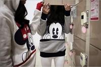 Осень и зима Микки Маус Толстовки с капюшоном рубашка толстовка любителей мультфильма Микки