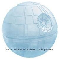 100pcs/lot смерти Звездные войны силиконовые льда лоток куб плесень чайник льда мяч плесени бар партия замораживания