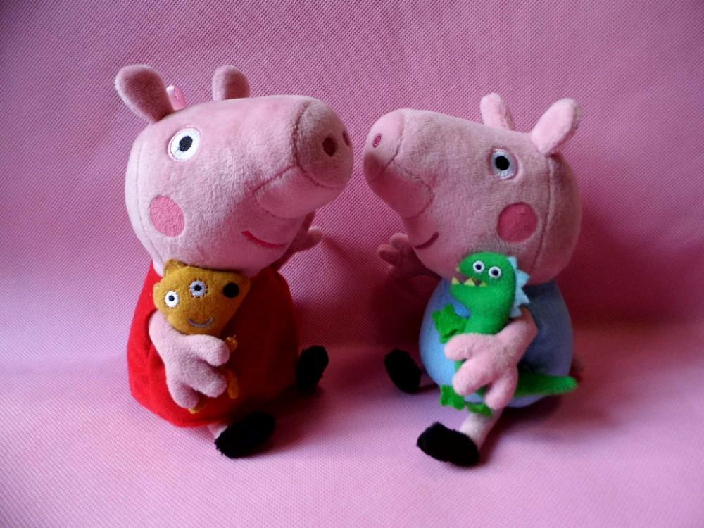 Игрушки свинки Пеппа и другие, поросята