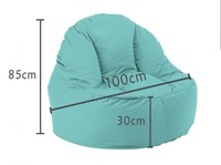 складной стул Living Room Leisure Comfortable Suede Beanbag Chair