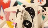 Чехол для для мобильных телефонов pearl love panda mobile-phone case for Iphone 4/4S/5