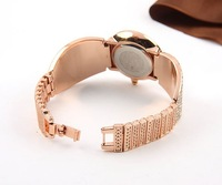 Наручные часы 2012 new styles of the Crystal Rhinestone Rose Gold women 'watch 100% Excellent at Quality
