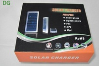 Зарядное устройство для мобильных телефонов 1350mah Universal Solar Charger for Mobile Phone / MP3/MP4 /PDA/DIGITAL CAMERA emergency use power backup
