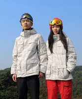 Женская куртка для сноуборда 2013 new al! Colored plaid couple snowboarding clothing / outdoor jacket / coat / ski wear