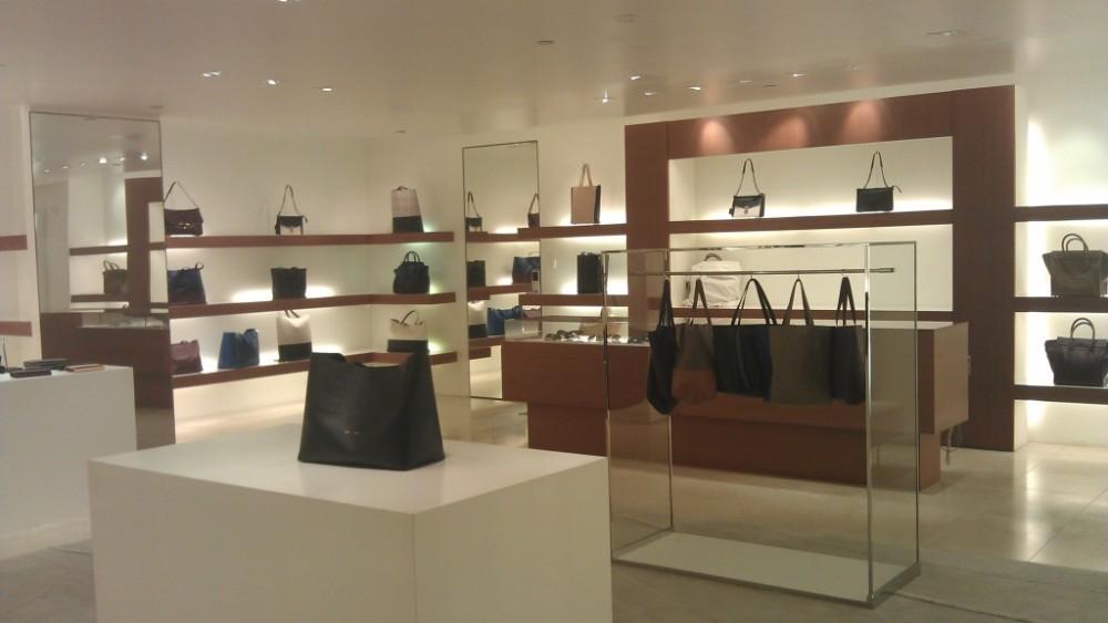 celine brown leather bag - Celine Store Interior images