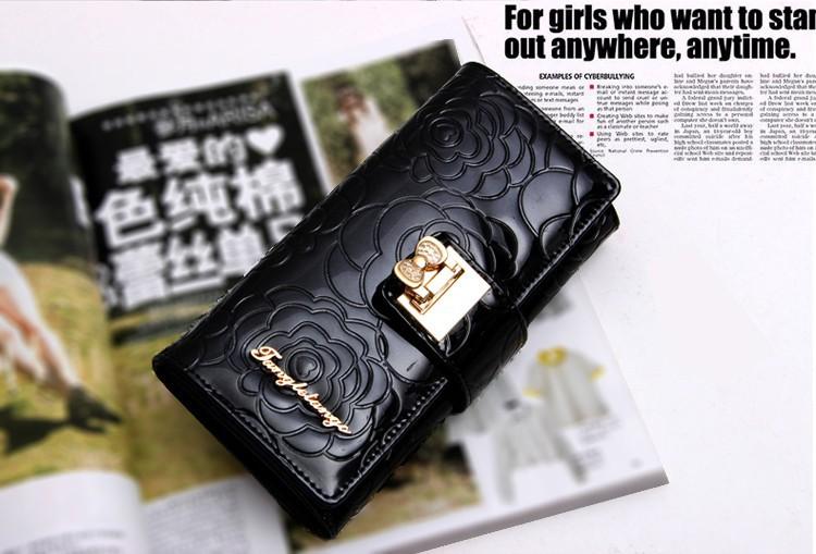 portefeuille avec porte monnaie femme