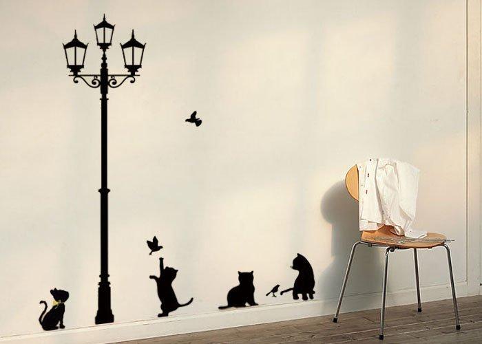 Decoracion mueble sofa dibujos para la pared - Imagenes para paredes ...