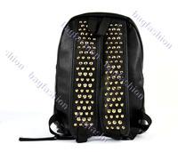 Детали и Аксессуары для сумок fashion design Rivet outdoor backpack bags women bags black sport bag shoulderbags 6482