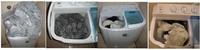 Стиральная машина High Quality Semiautomatic Twin Tub Washing Machine Pulsator Washing Machine Mini washing machines