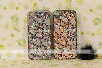 Чехол для для мобильных телефонов 3D Diamond Fashion Cases for i phone 5, Luxury SKULL bling design reinestone for iphone 5 Case Luxury