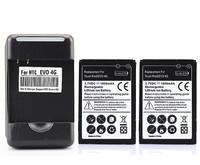 Батарея для мобильных телефонов Unbranded/Generic 2 x 1800mah + HTC 7 Pro, Hero200, EVO Shift 4G, EVO 4G T7373, T7388, T8388, A9292 S511, S521, S520, S523, S522, S510