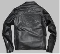 Мужские изделия из кожи и замши EMS motorycle cool black skull patch discount orginal jaqueta 110th cool 2 IN 1 jacket for men 98138