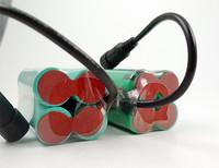2.5 ч работает время 8.4V 4600mah 18650 аккумуляторная батарея для led велосипед света, или фар с 3шт cree xm-l t6