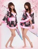 Женский эротический костюм Sexy Lingerie Women dress 2012 Kimono Costume sleepwear Sex Doll Sexy Costumes Factory Price Lingeries