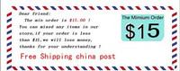 """""""Minimum Order $ 15,"""" the Korean version of the cartoon wooden stapler / portable mini stapler"""