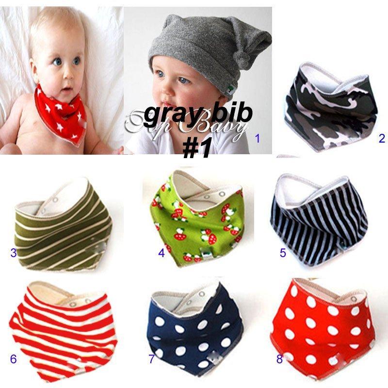 Baberos Bandanas Con Broche Para Bebes - Biobío - Niños - Bebés
