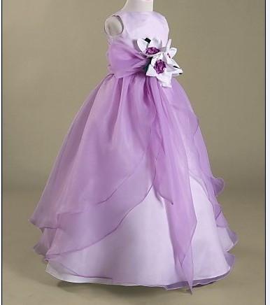 Платья из органзы для девочки 78