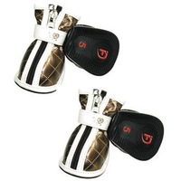 Одежда для собак Pet Dog Winter Shoes Puppy Non-Slip Boots For Christmas 2pairs/Lot
