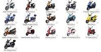Двигатель для мотоцикла 125cc Clone Engine Gasket Set Scooter Parts @80137