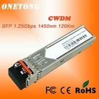 Потребительские товары 1000BASE-CWDM SFP 1.25Gbps 1470nm 120km fiber optic transceiver, DDM, Compatbile withCisco, Juniper, 3COM, HP, Huawei, Zyxel, Nortel