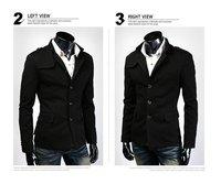 High-quality men's clothing Fashion Men's Business Suit Set blazer outerwear suit slim casual suits men