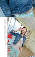 Женская куртка 2013 New Arrive ladies denim jackets Hot-selling women denim outerwear, high quality Jeans jackets coats S, M, L, XL