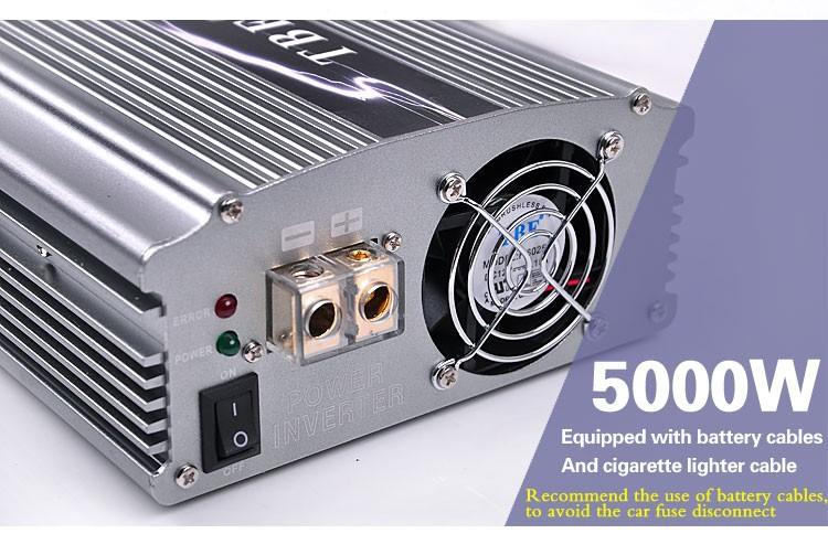 Inversor de 12v Para 220v 10000w de Pico 12v Para 220v