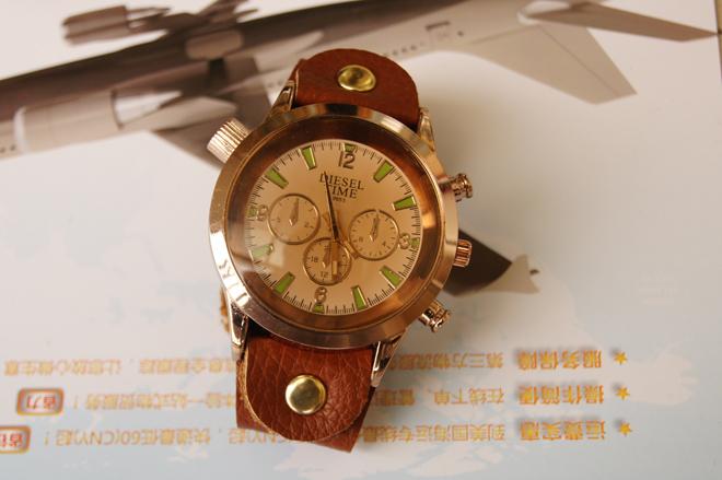 Описание: Купить часы DIESEL TIME с кожаным коричневым ремешком в Москве, Ставрополе, Майкопе, Воронеже