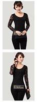 Free shipping 2012 new fashion sexy Women net-yarn Jacket Lady Long sleeve T-shirt Pierced Lace Bottoming shirt Chiffon clothing