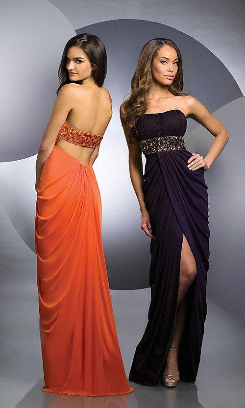 Платье вечернее в пол в греческом стиле