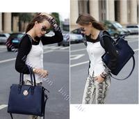 Маленькая сумочка Vintage woman bag leather Concise OL Pattern women fashion handbag Shoulder Bags High Quality bag cross body 6484