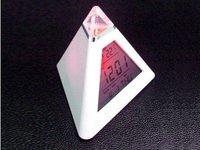 Будильник Pyramid Digital Alarm Clock thermometer color Light C11