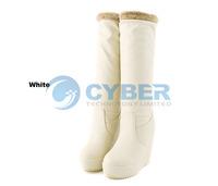 Женские ботинки 2013 Fashion Women Ladies Round Head Synthetic Leather Slugged Bottom Winter Boot 9374
