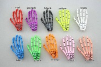 Детский аксессуар для волос The ghost hand girls hairpin skeleton claws hairpins hip-hop style Zombie Punk skull hair clips for women 11 colors