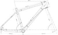 Рама для велосипеда OEM UD MTB 26er +