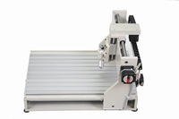 New 4 axis 4030 cnc router 400*300mm engraver engraving/drilling and milling machine