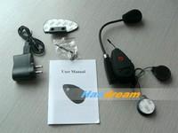 Специализированный магазин Handream Wireless Motorcycle Bluetooth Intercom Motorcycle Helmet Headset Headphone for motorcyclists & skiers & bikers FM 100m