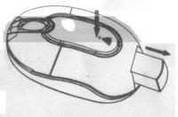 Компьютерная мышка Wireless USB MOUSE For PC Laptop #9357