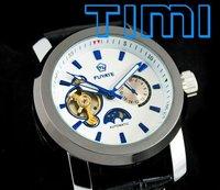 Наручные часы Men Flywheel Automatic Mechanical Moon Phase Watch