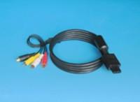 Wholesale 100PCS S-Video AV Cable For Super Nintendo / GameCube Free DHL Shipping
